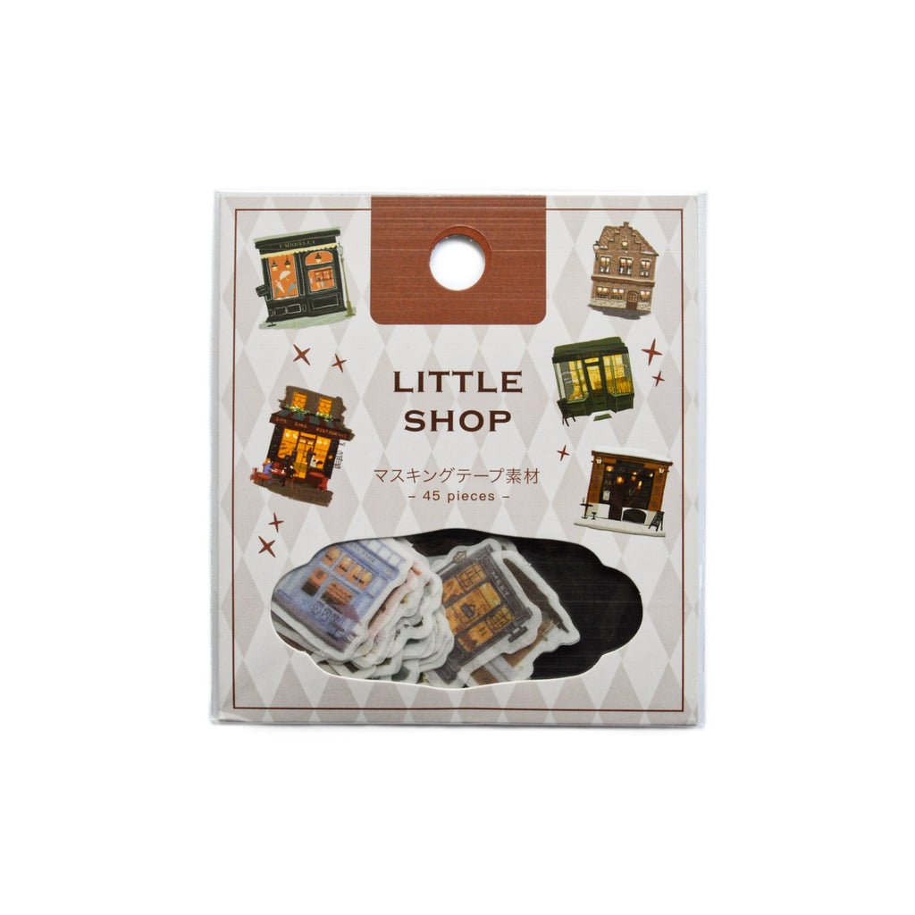 BGM FLAKE SEAL- LITTLE SHOPS