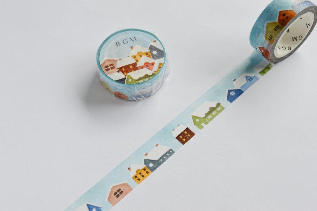 WASHI TAPE- SNOW