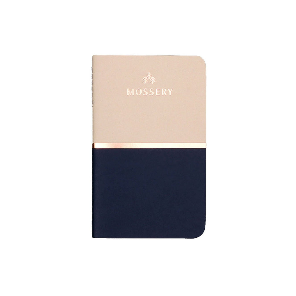 BISCUIT BLUE POCKET NOTEBOOK