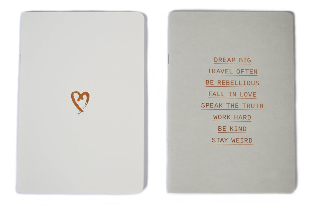 LOVE AND MOTIVATION- A5 NOTEBOOK SET