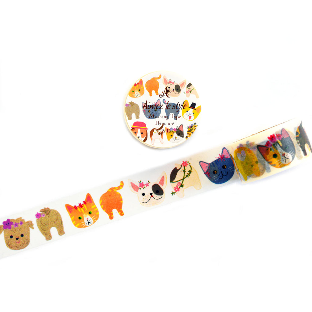 WASHI TAPE- CATS & DOGS
