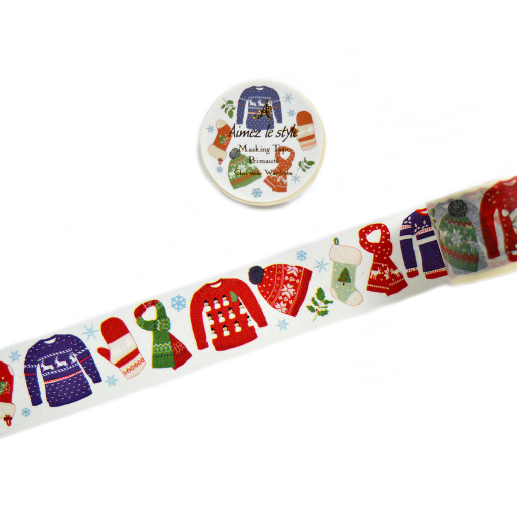 WASHI TAPE- CHRISTMAS WARDROBE (CHRISTMAS EDITION)