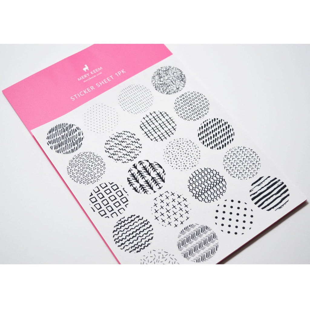 CIRCLES PLANNER STICKERS