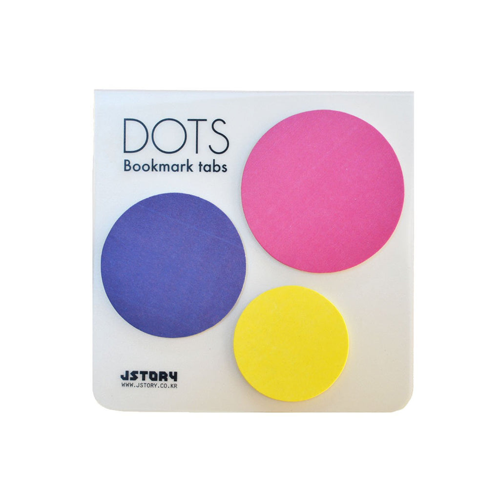 INDEX TABS- DOTS (PINK)