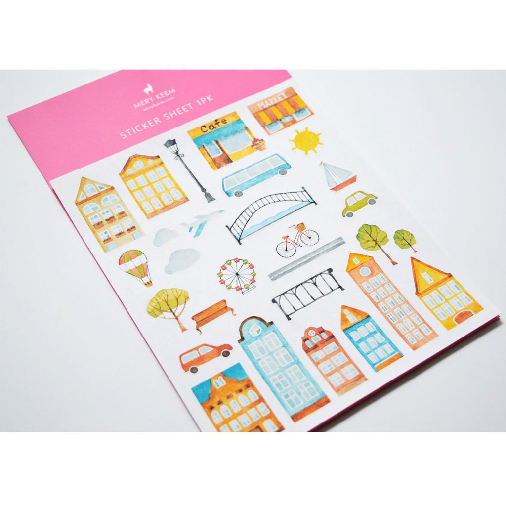 CITY PLANNER STICKERS