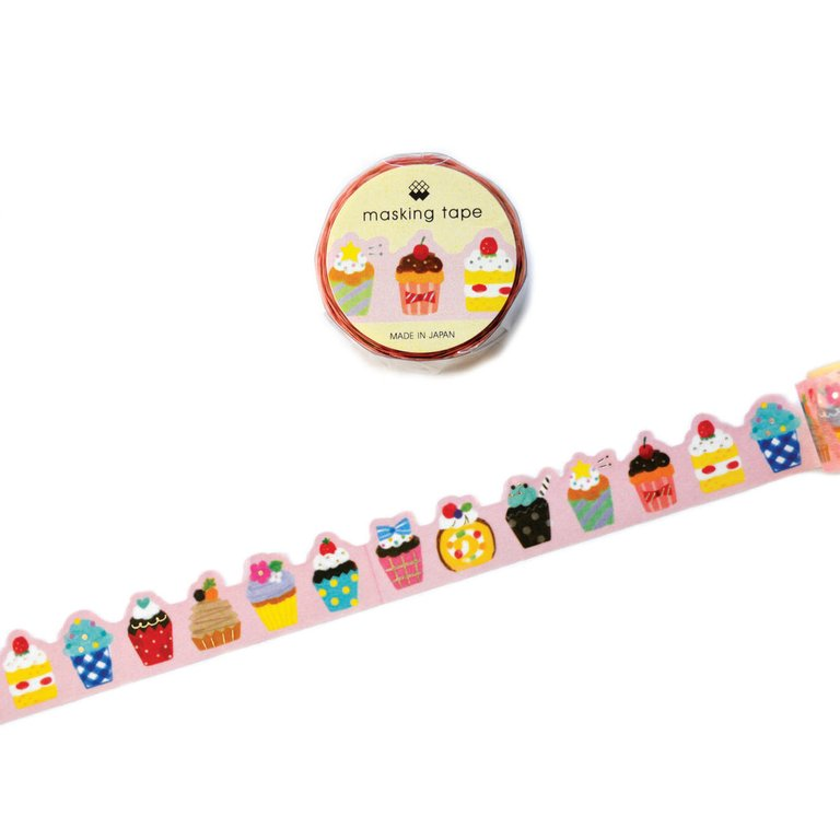 WASHI TAPE- CUPCAKES (DIE CUT)