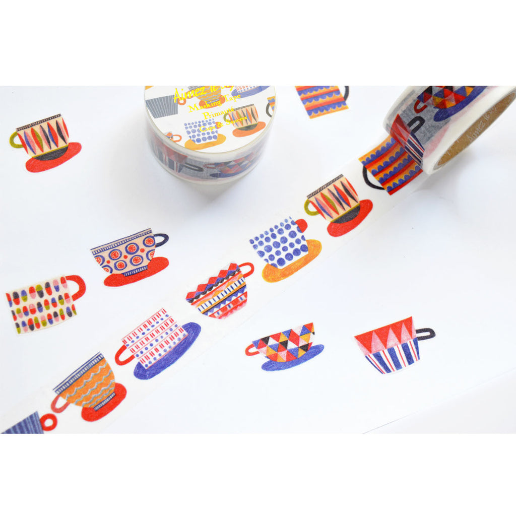 WASHI TAPE- CUPS & SAUCERS