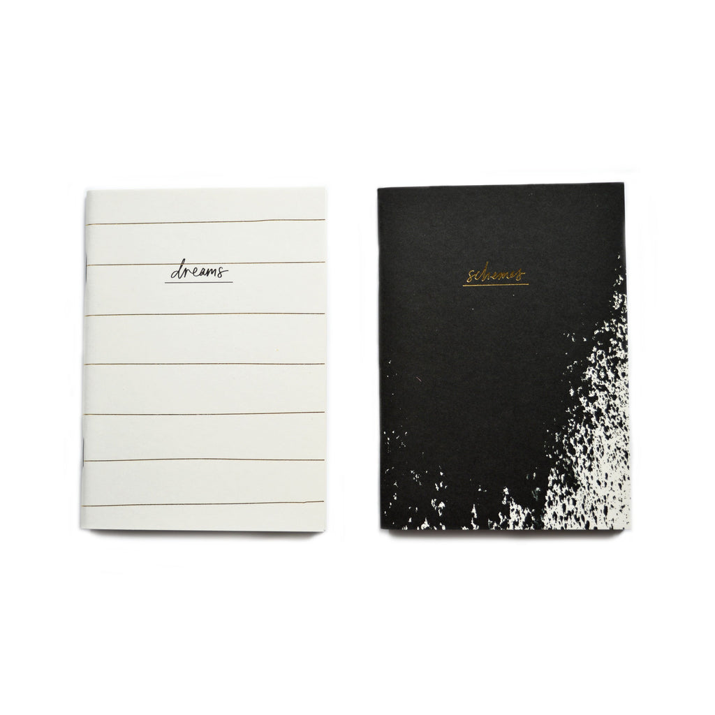 DREAMS & SCHEMES A6 NOTEBOOK SET
