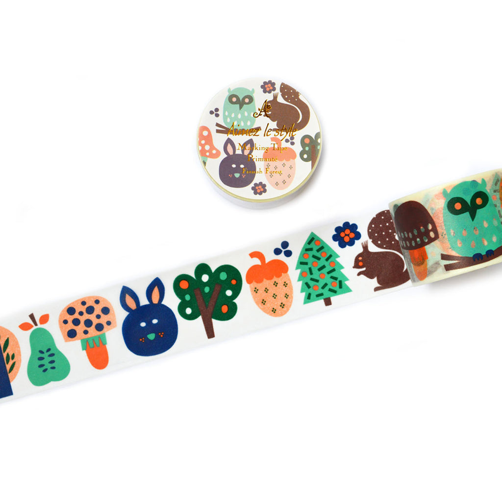 WASHI TAPE- FINNISH FOREST