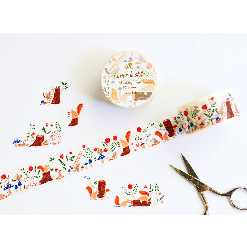 WASHI TAPE- FOREST LIFE