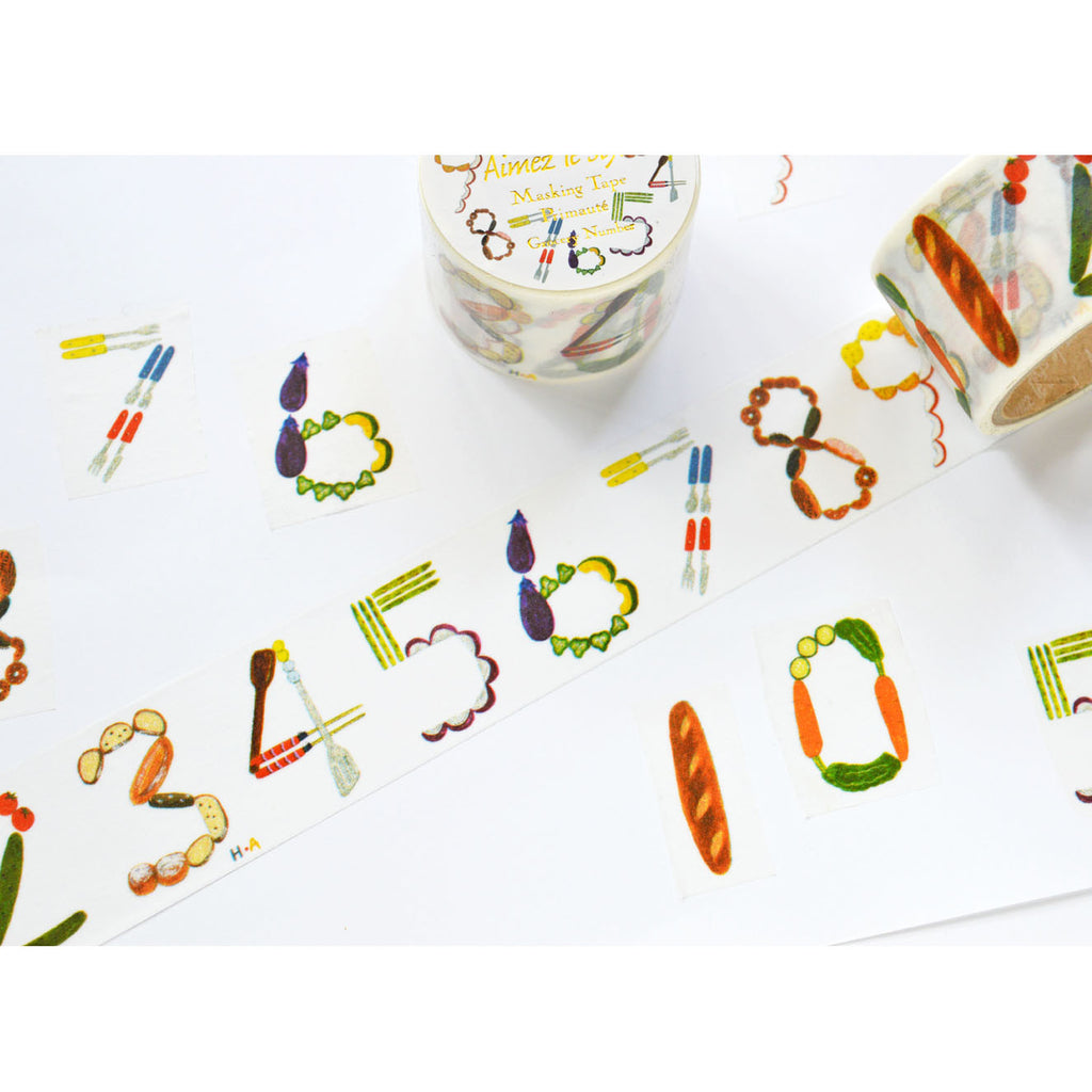 WASHI TAPE- GROCERY NUMBERS