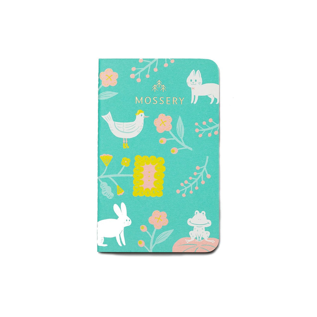 GARDEN GREEN POCKET NOTEBOOK