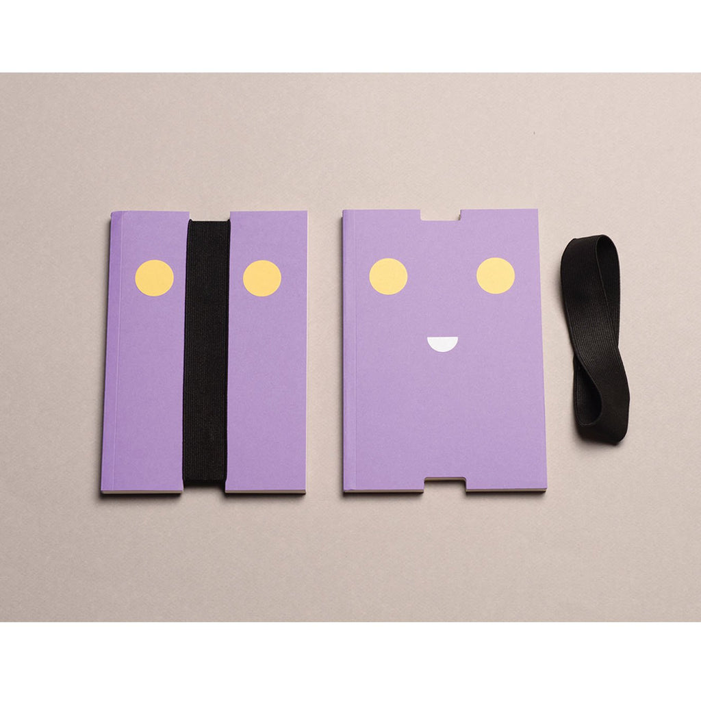 INCOGNITO NOTEBOOK- PURPLE