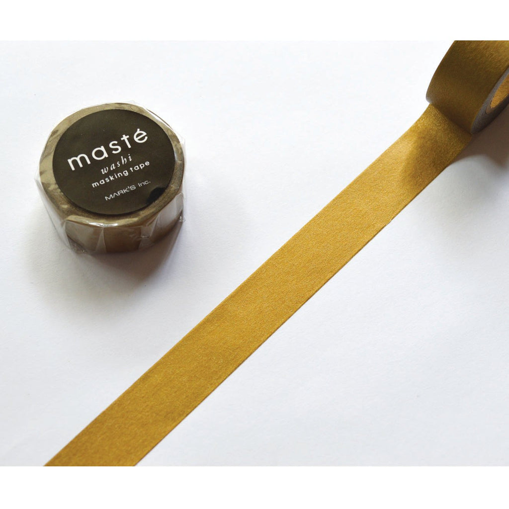 WASHI TAPE- MATT GOLD