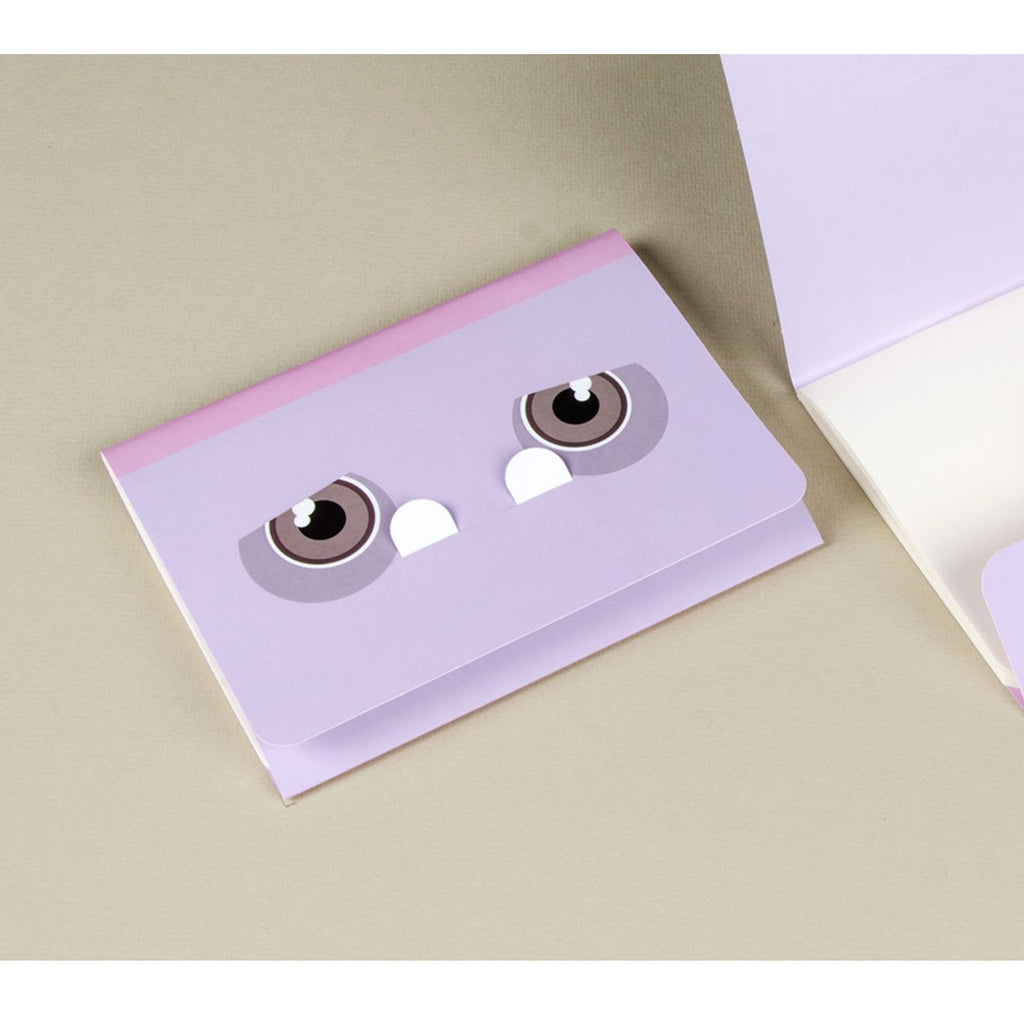 PURPLE MIMICA NOTEBOOK