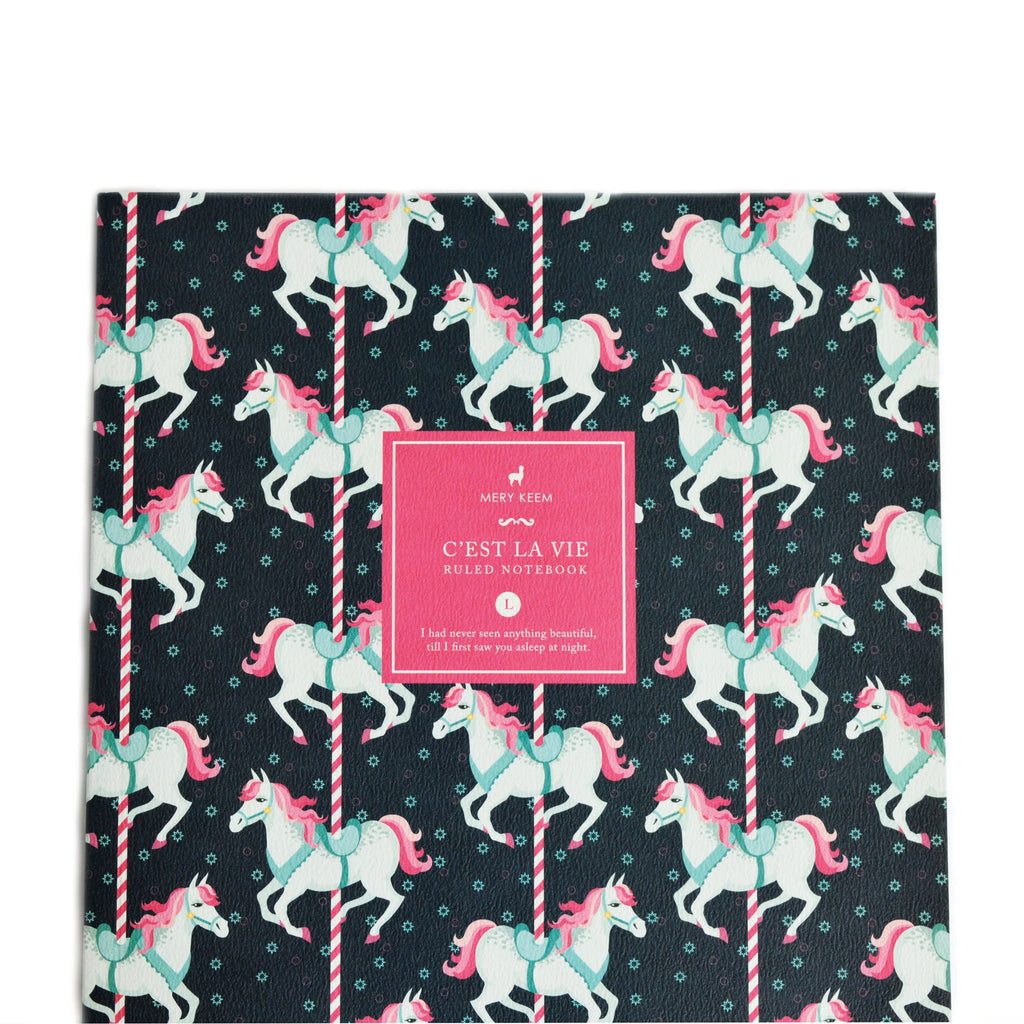 PONY CAROUSEL NOTEBOOK