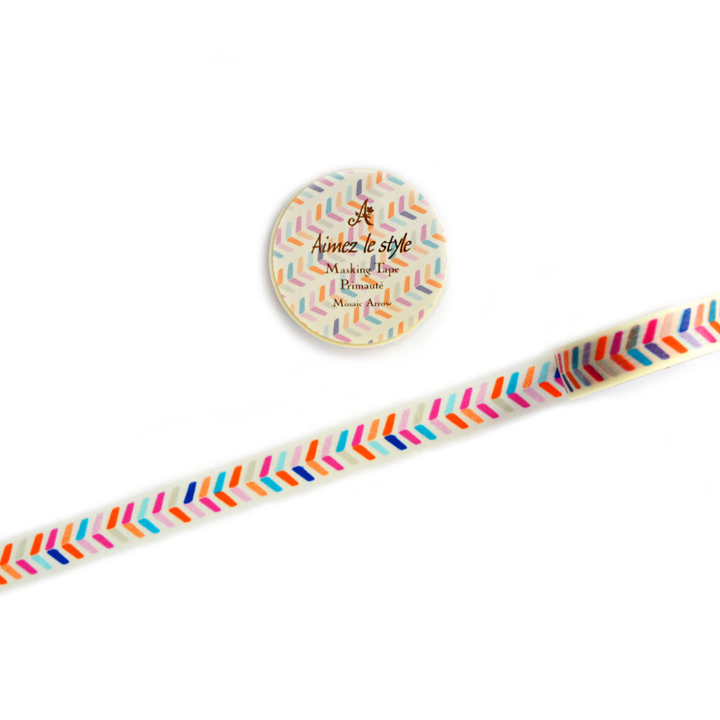 WASHI TAPE- MOSAIC ARROW