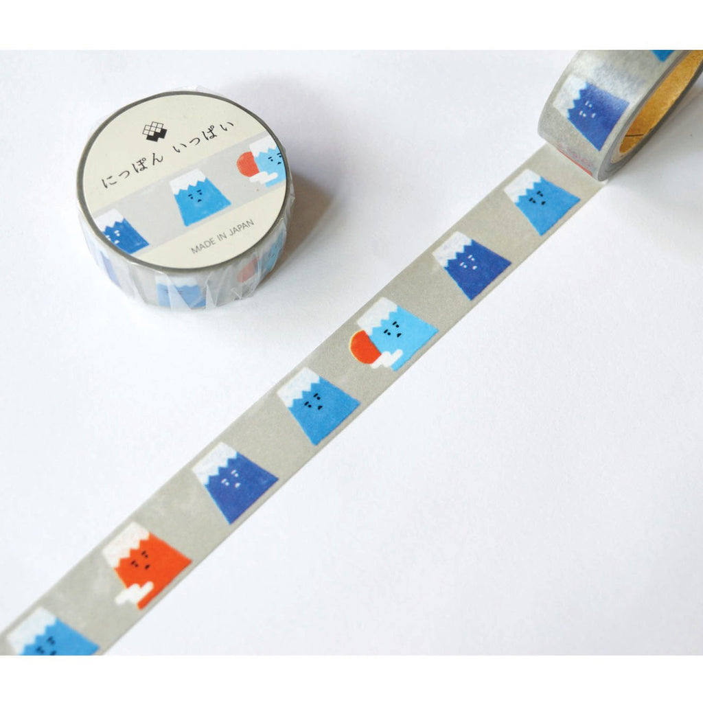 WASHI TAPE- MOUNT FUJI GREY