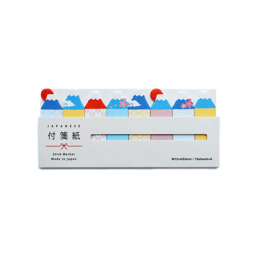 STICKY NOTE MARKER- MOUNT FUJI