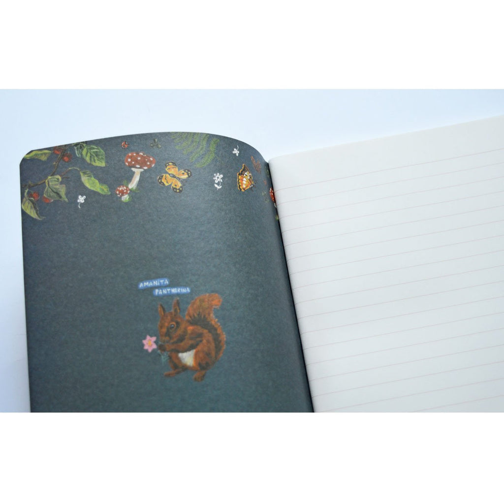 SMALL LINED NOTEBOOK- NATHALIE LETE