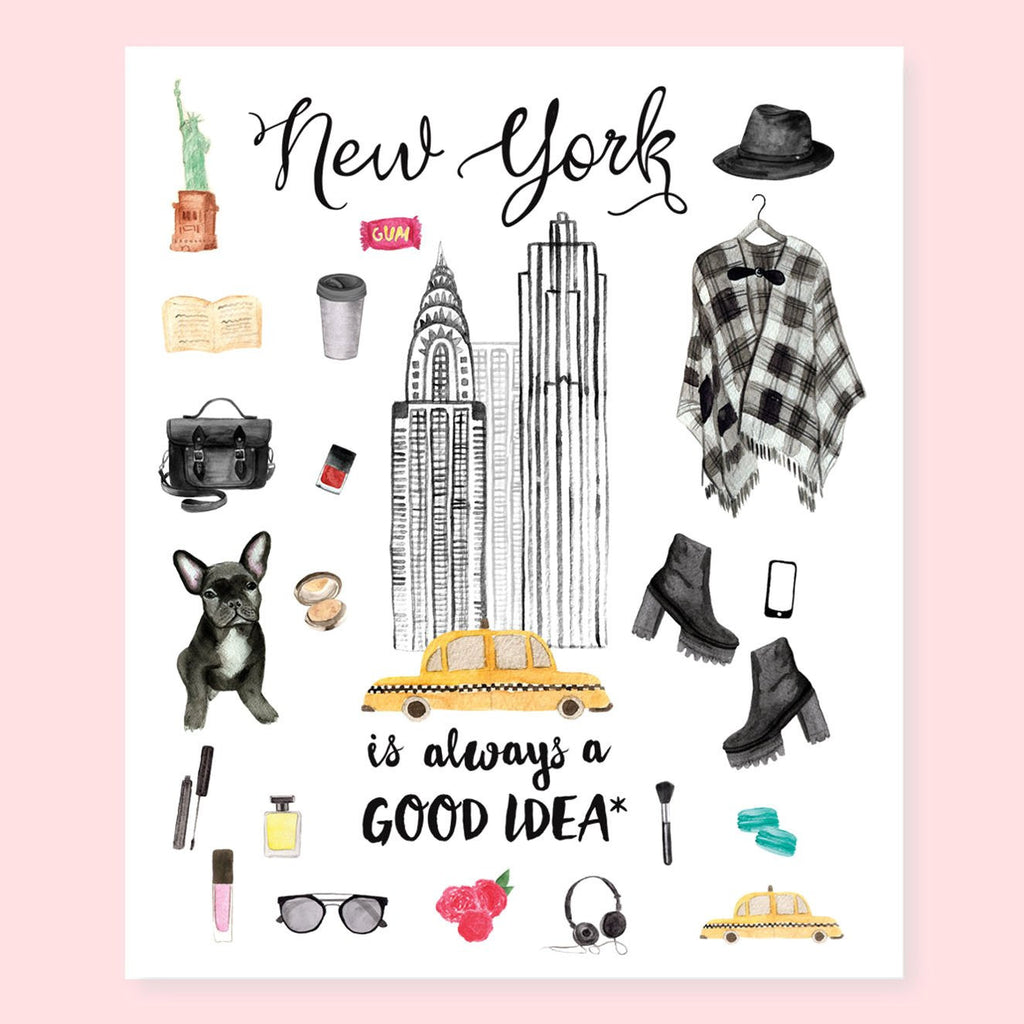NEW YORK PLANNER STICKERS