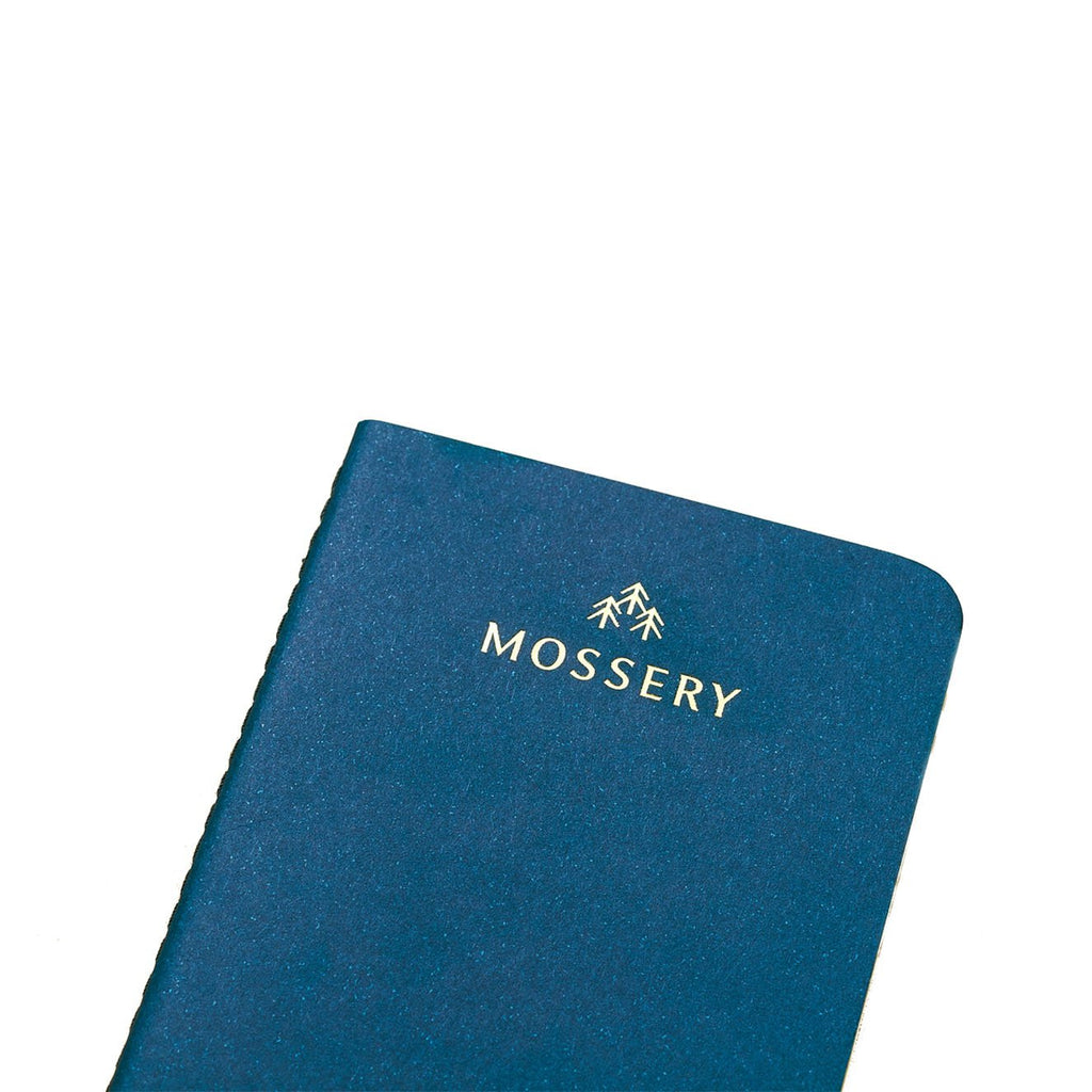 PLAIN NAVY POCKET NOTEBOOK