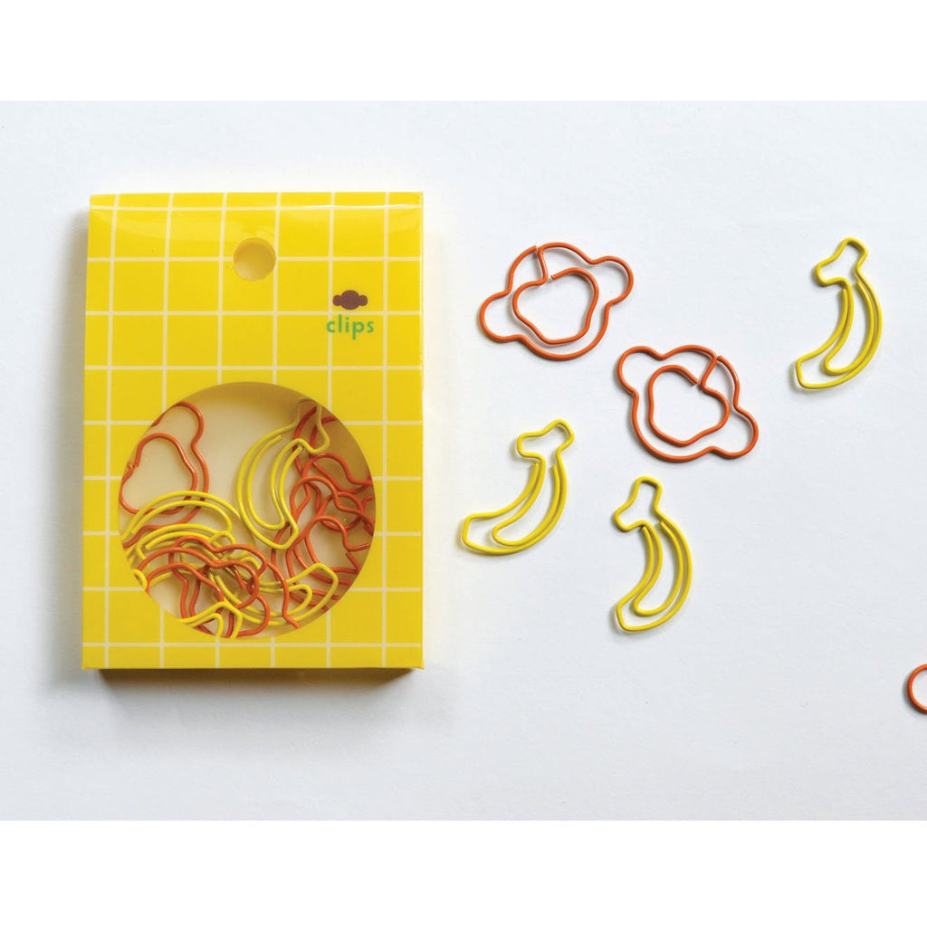 PAPER CLIPS- MONKEY/BANANA