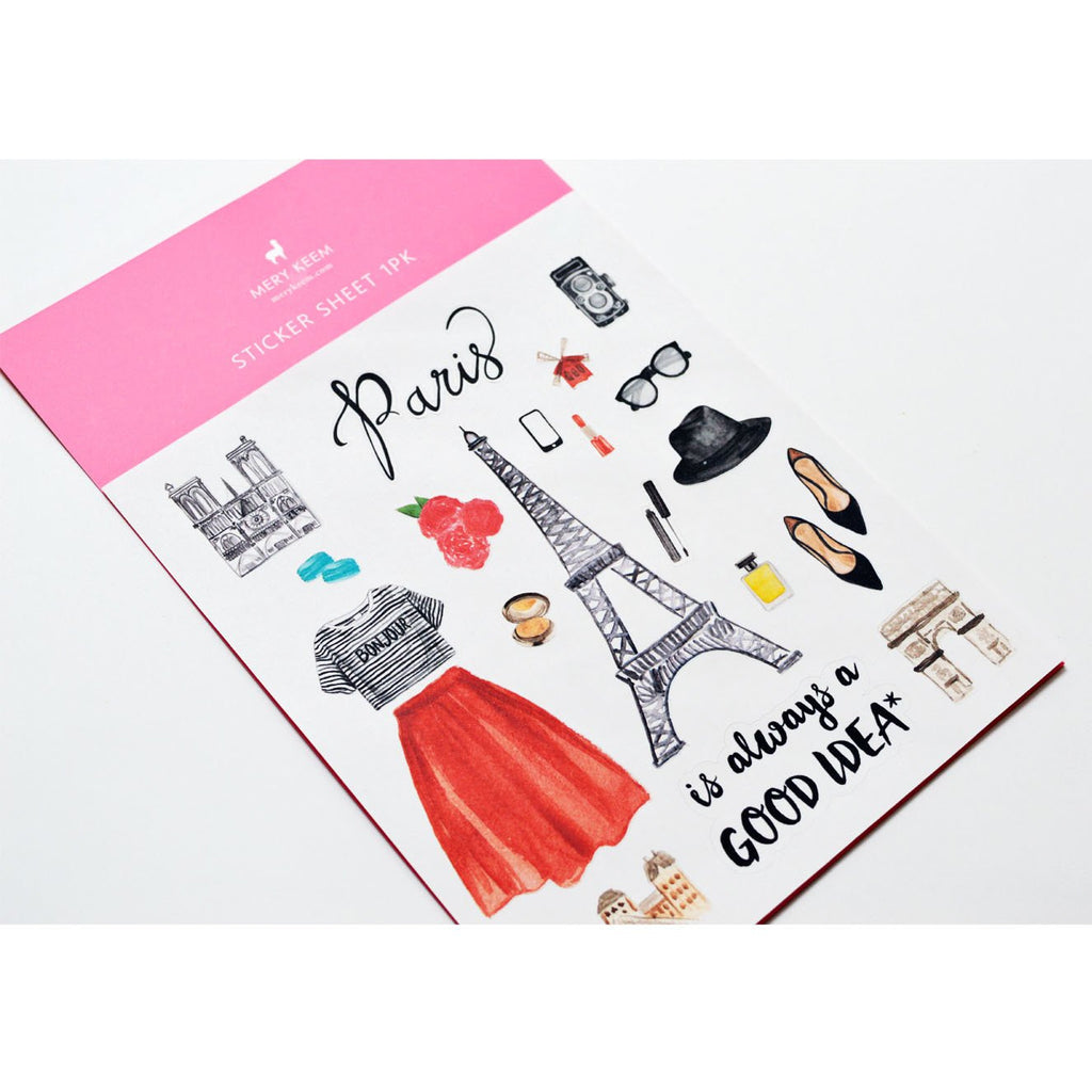 PARIS PLANNER STICKERS