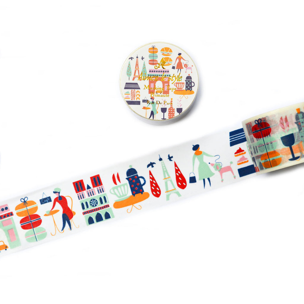 WASHI TAPE- RUE DE PARIS