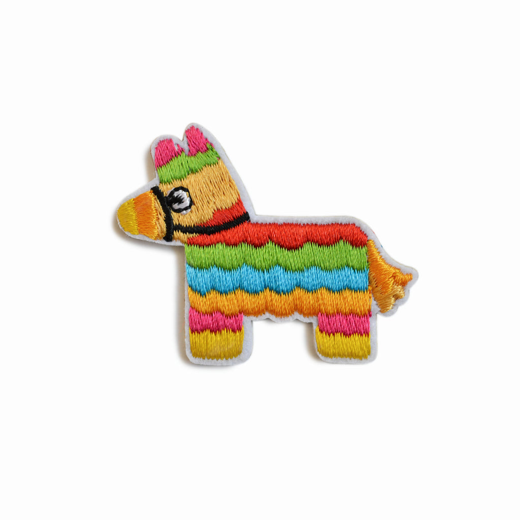 PINATA EMBROIDERED STICKER PATCH