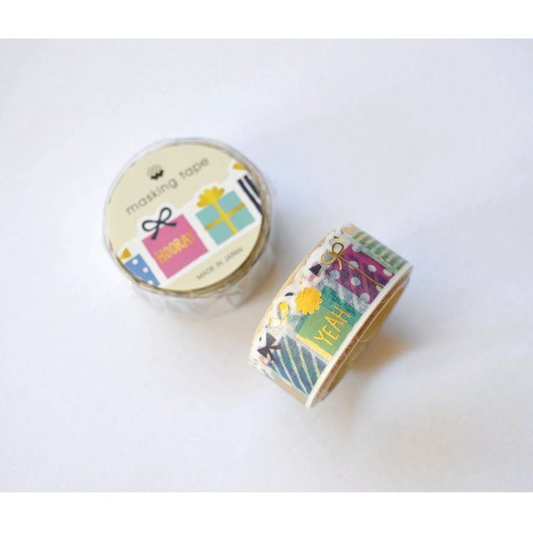 WASHI TAPE- PRESENTS (DIE CUT)