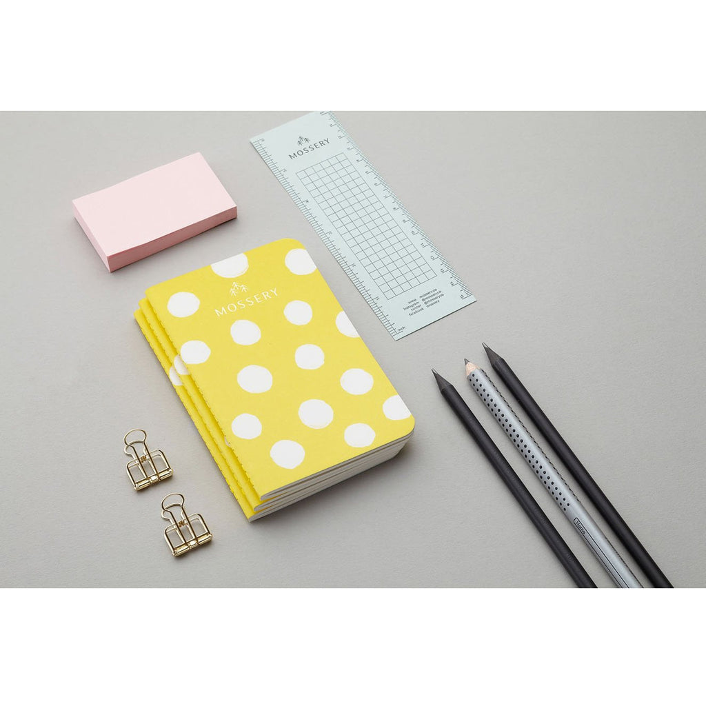 LEMON POLKA POCKET NOTEBOOK