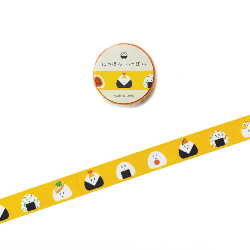 WASHI TAPE- RICEBALL YELLOW
