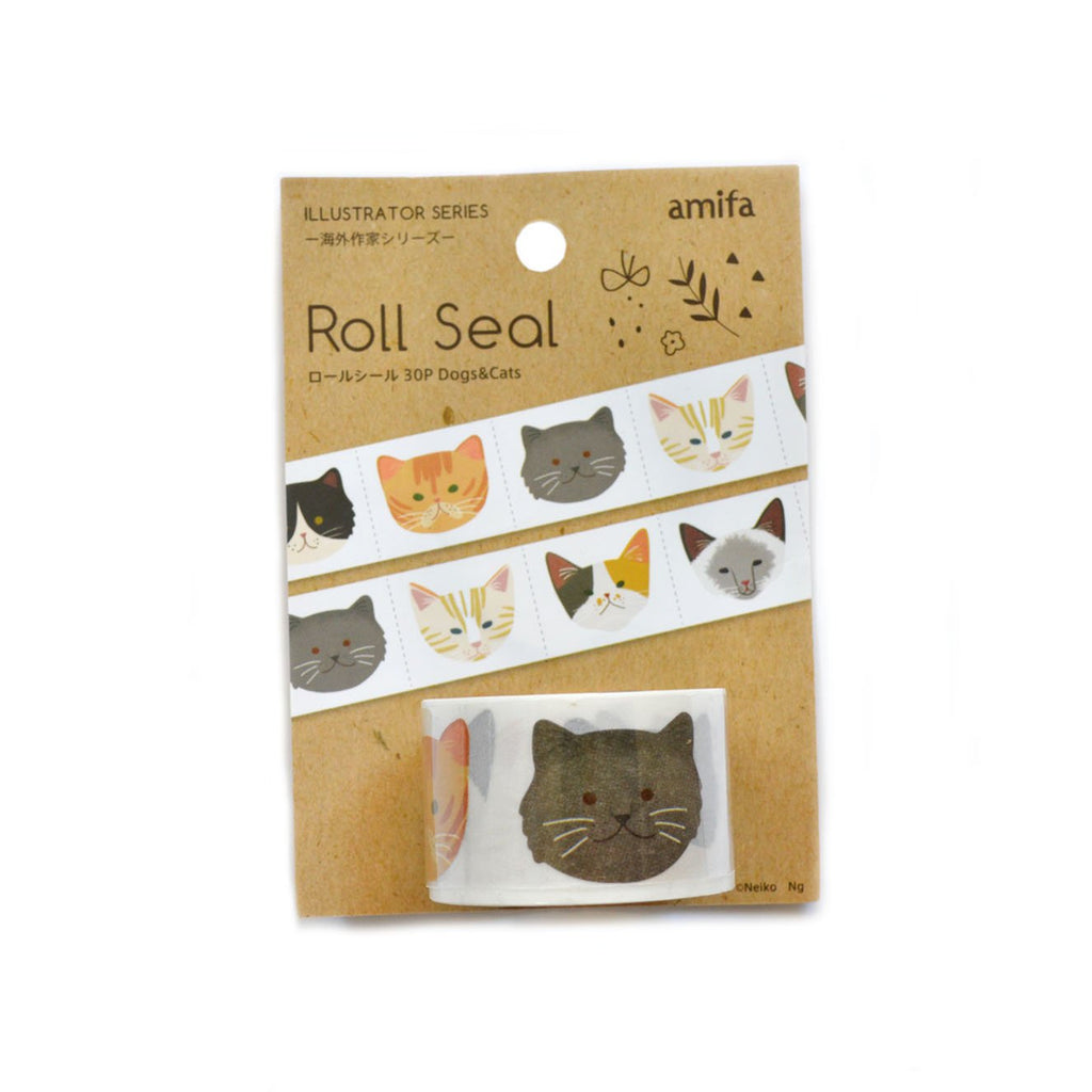 AMIFA ROLL SEALS- CATS