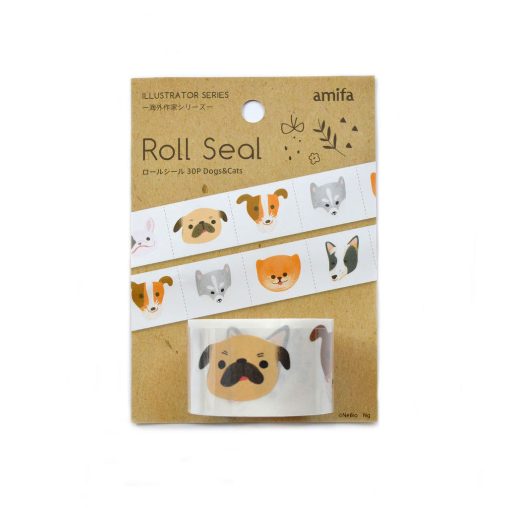 AMIFA ROLL SEAL- DOGS