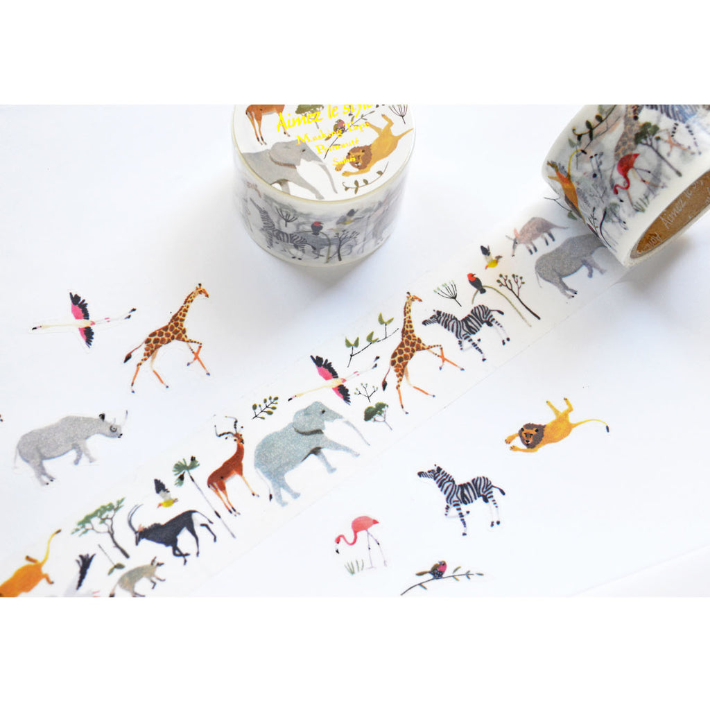 WASHI TAPE-SAFARI