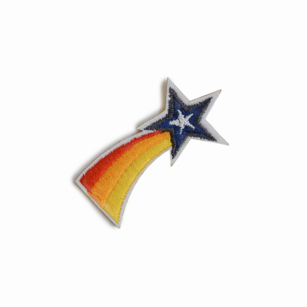 SHOOTING STAR EMBROIDERED STICKER PATCH