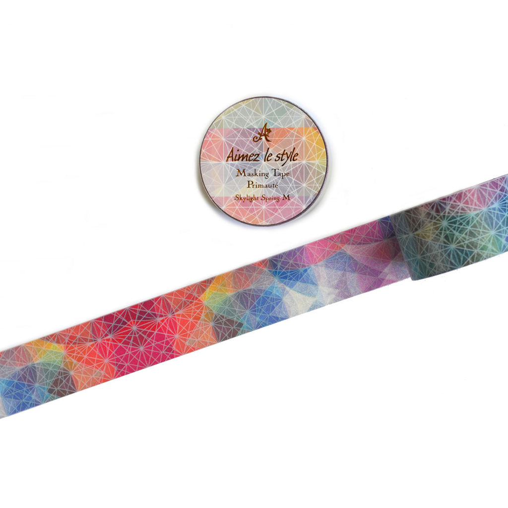 WASHI TAPE- SKYLIGHT SPRING- M