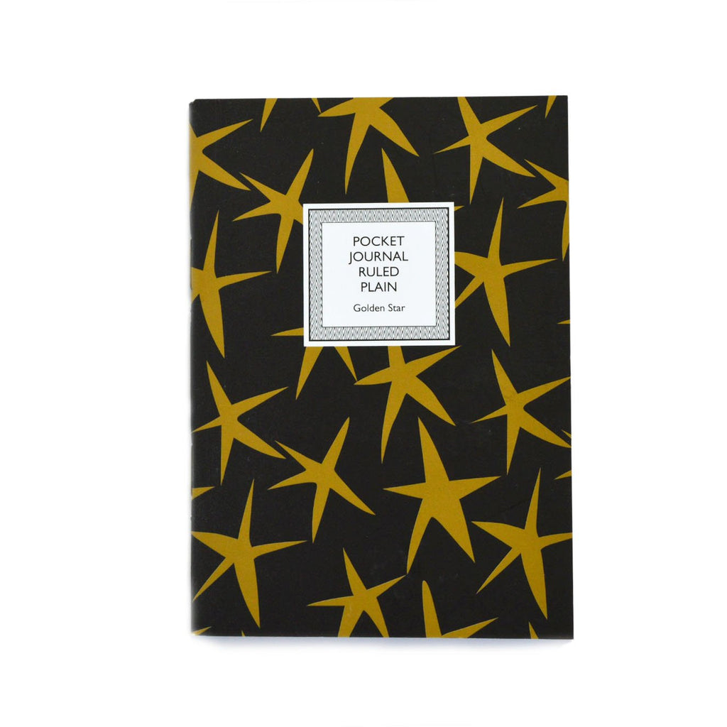 POCKET NOTEBOOK- GOLDEN STAR