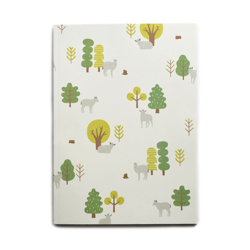 MOUNTAIN GOAT RULED NOTEBOOK