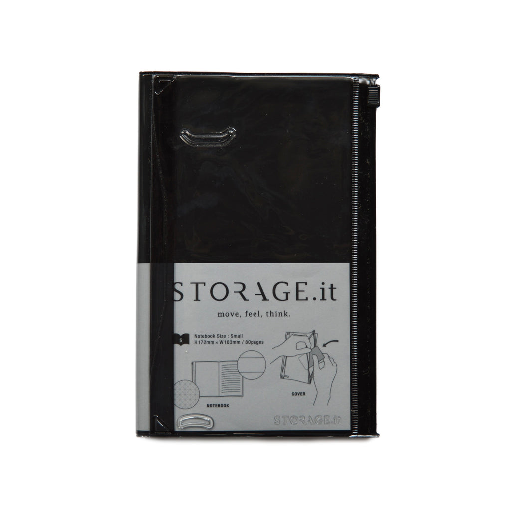 STORAGE.it NOTEBOOK- BLACK