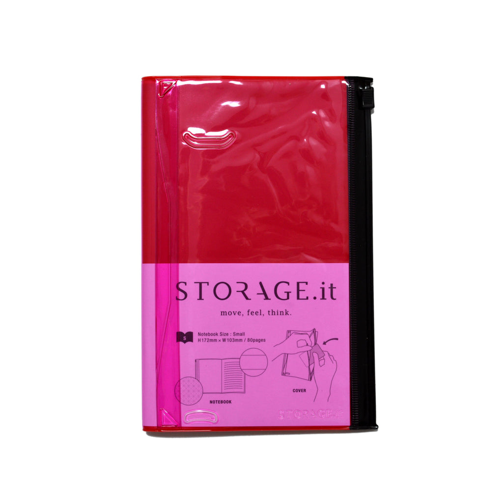 STORAGE.it NOTEBOOK- RED