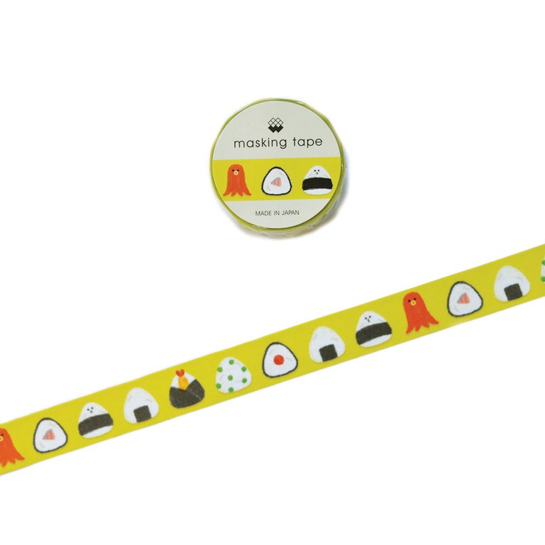 WASHI TAPE- SUSHI GREEN