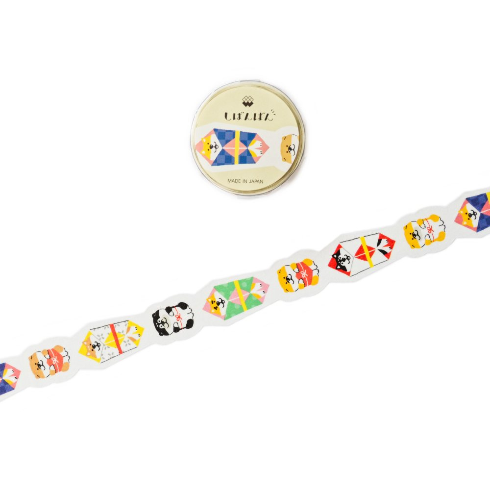 WASHI TAPE- SHIBANBAN LIMITED EDITION (DIE CUT)
