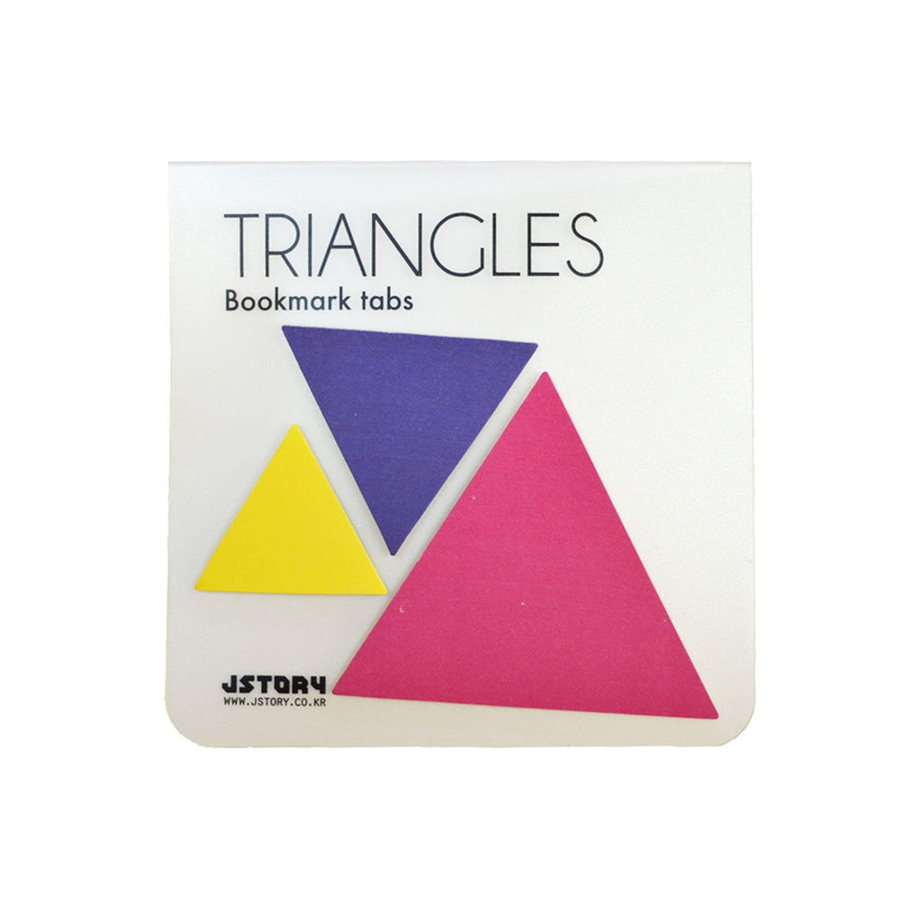 INDEX TAB- TRIANGLES (PURPLE)