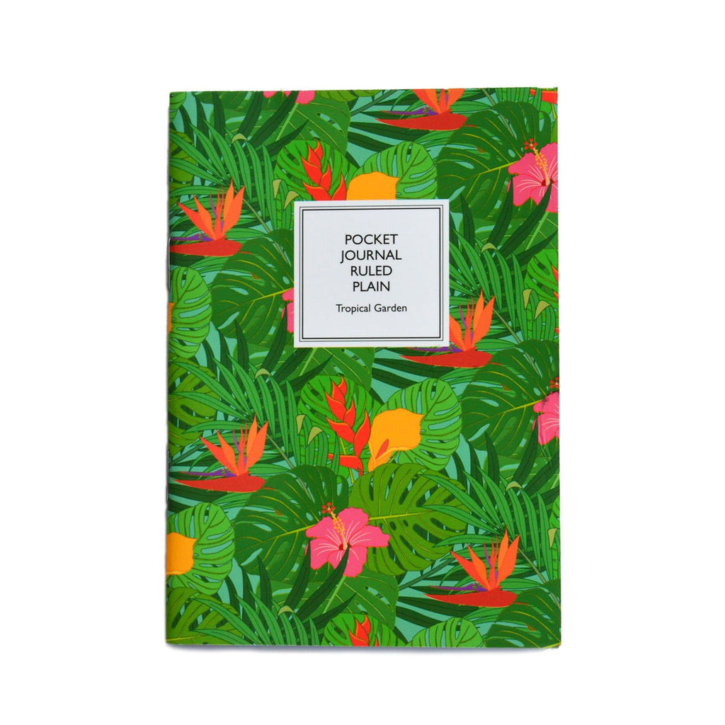 POCKET NOTEBOOK- TROPICAL GARDEN