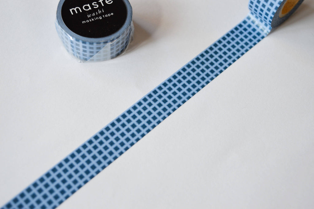 WASHI TAPE- BLUE GRID