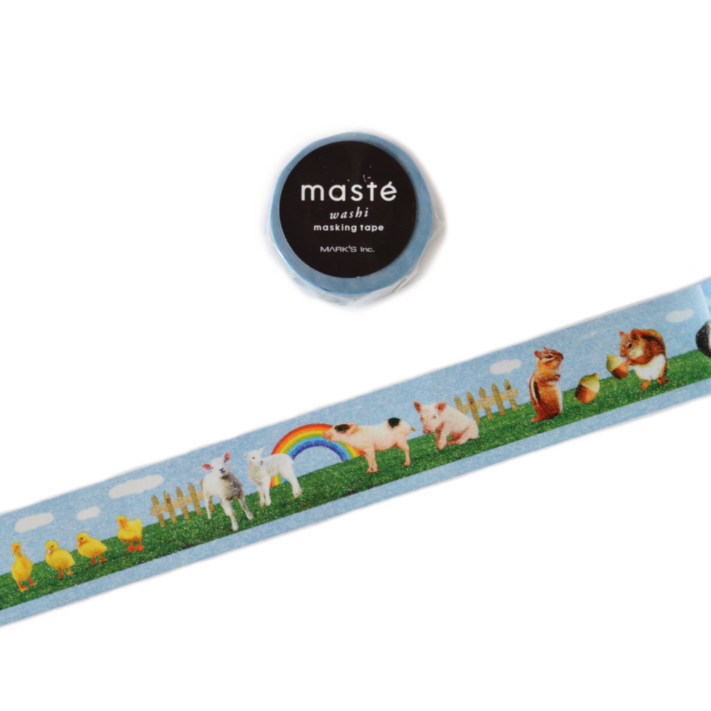 WASHI TAPE- ANIMAL FARM