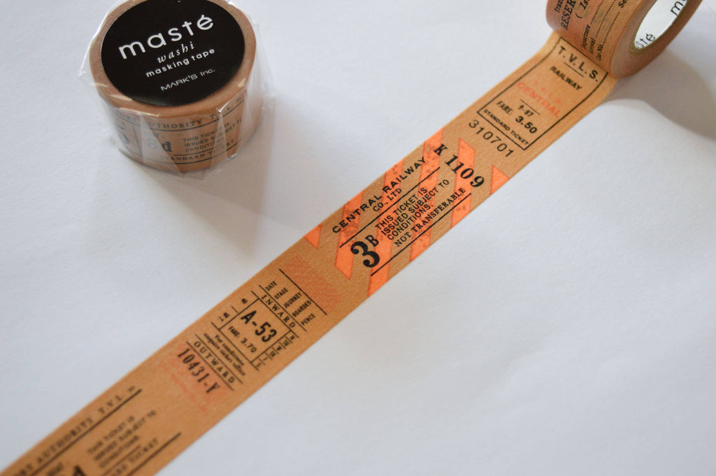 WASHI TAPE- TICKET STUBS