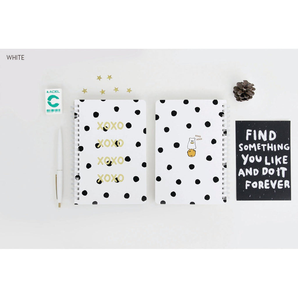 GMZ XOXO RING BOUND NOTEBOOK